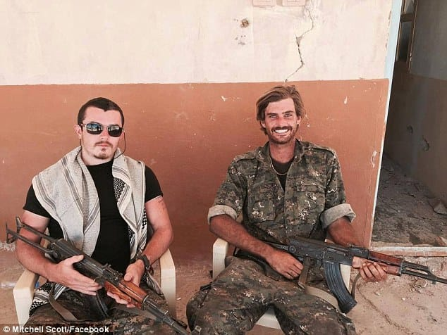 Anti-Isis Fighter Pays Tribute To Fallen Friend With Tattoo!