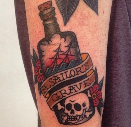 Jaclyn Rehe: 22 Distinguished Sinking Ship Tattoos
