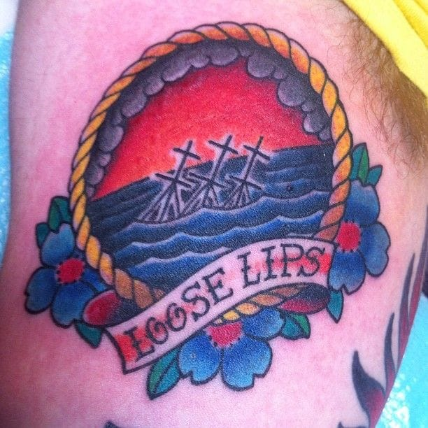 Cool Tattoo by Blood Sweat and Tears Tattoo