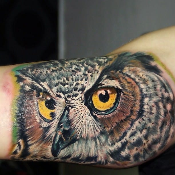 Check out the detail in this owl piece!