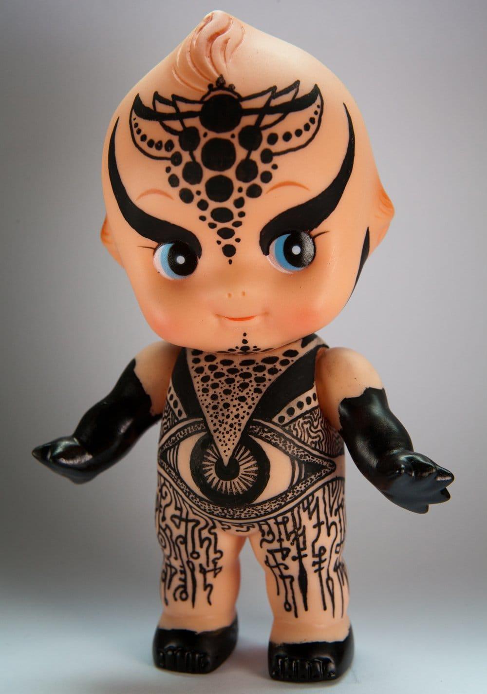 Miniature Ink Ii: Tattoo Artists Customize Kewpie Dolls For Good Cause