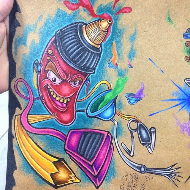 Um pouco da série de desenhos exclusiva de Dudu
