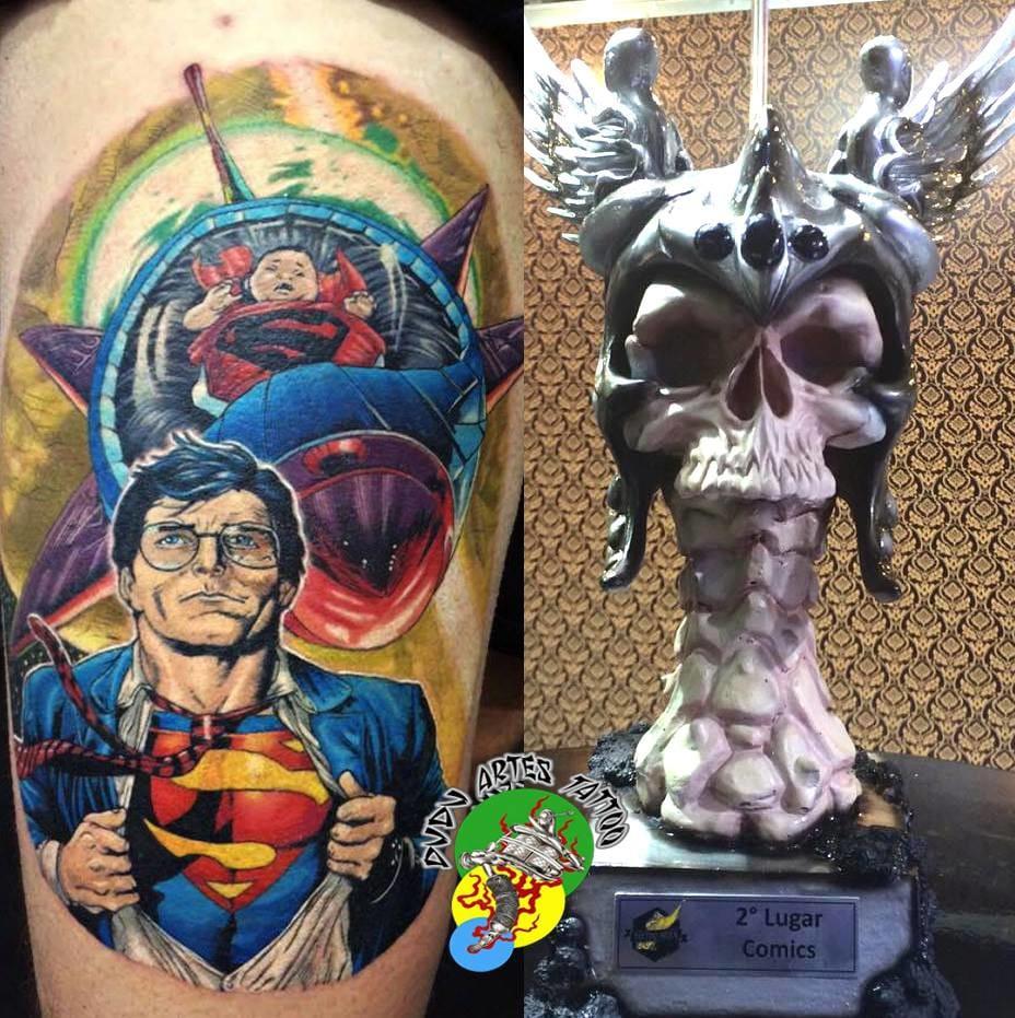 Segundo lugar Comics na Tattoo Week SP 2015