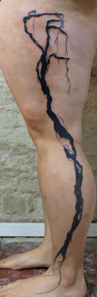 Tatuagens que parecem ter vida própria