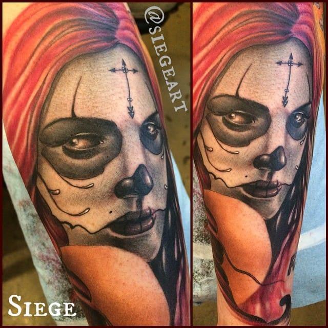 siege sugar skull