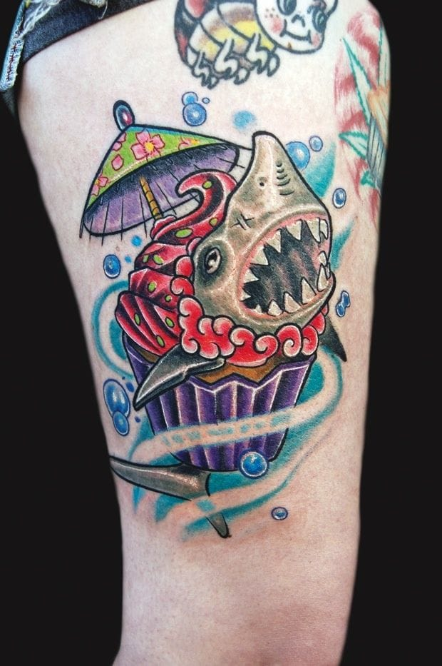 40 Badass Shark Tattoos