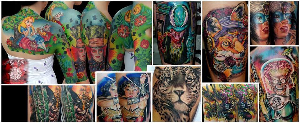 17 Sensacionais Tatuagens Coloridas De Clayton Dias
