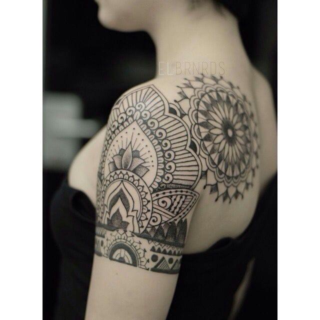 Oriental art by El Bernardes. #ElBernardes #shoulder #shouldertattoo