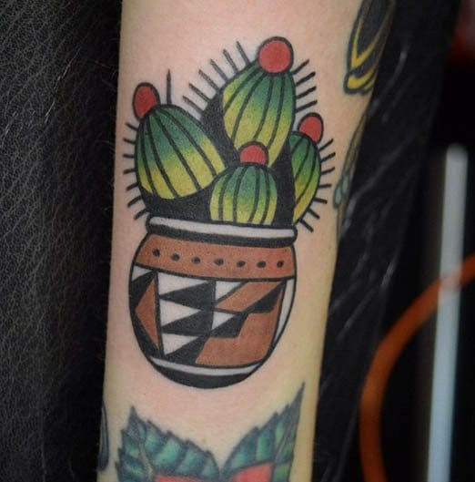 Cactus Tattoo by Andrew Mullen