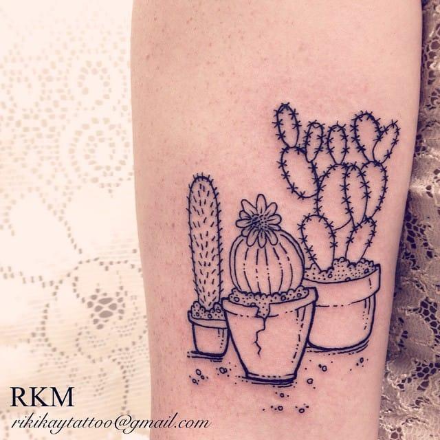 Girly Arrow Tattoos 22 Prickly Cactus Tatt...