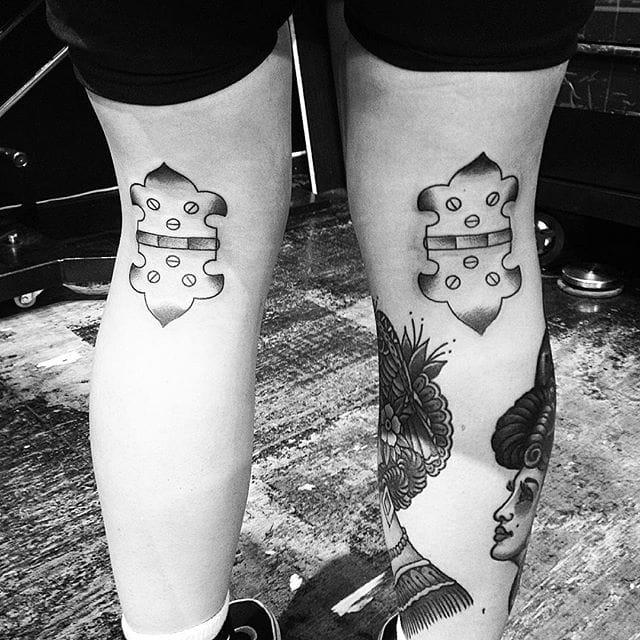 minimalistic tattoo by Jon Boy