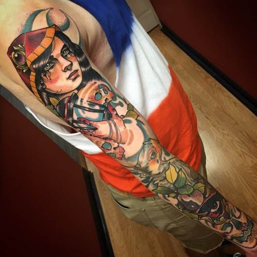 This Gypsy sleeve is amazing! via @deadmeat