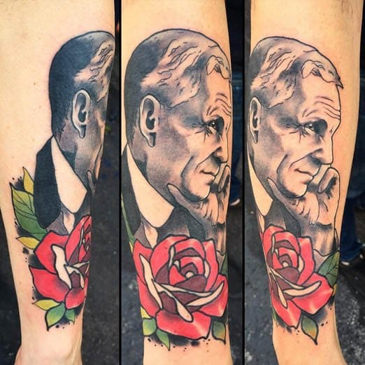 No words needed for this Henry Ford portrait. via @deadmeat