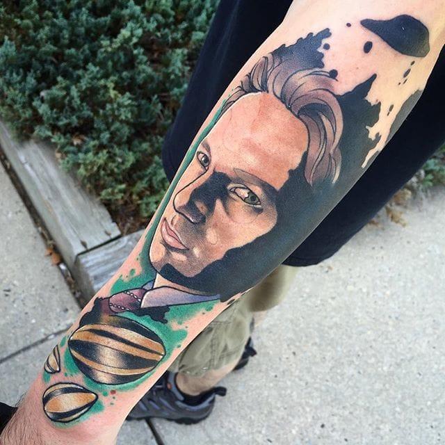 Fox Mulder Portraits! Nice! via @deadmeat