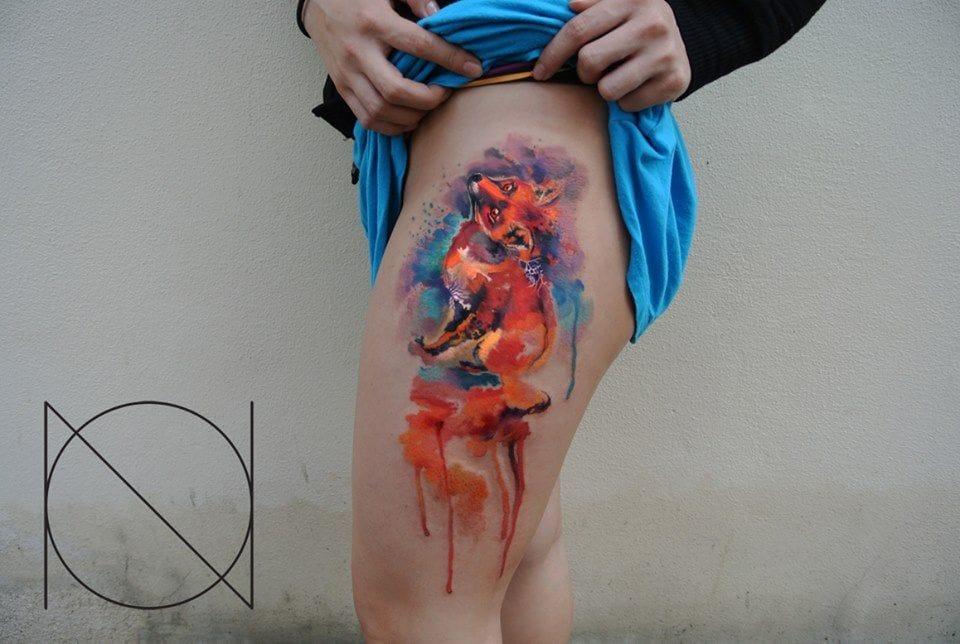 graphic tattoo by Ondrash