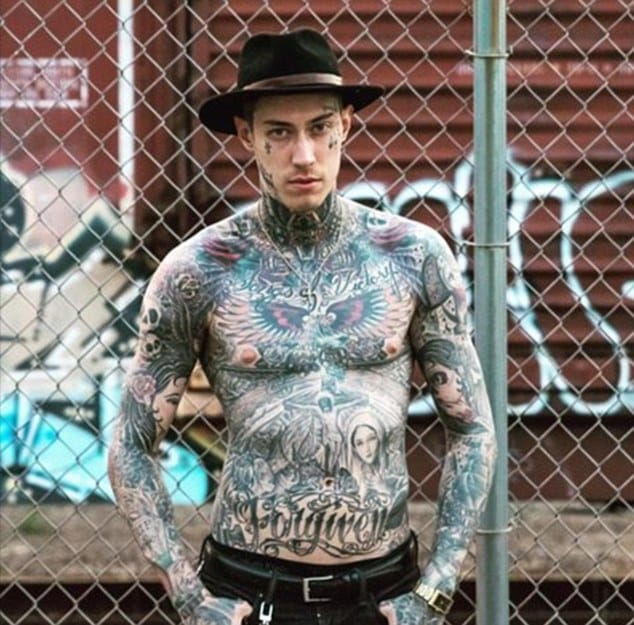 Trace Cyrus And His Awesome Ink!!