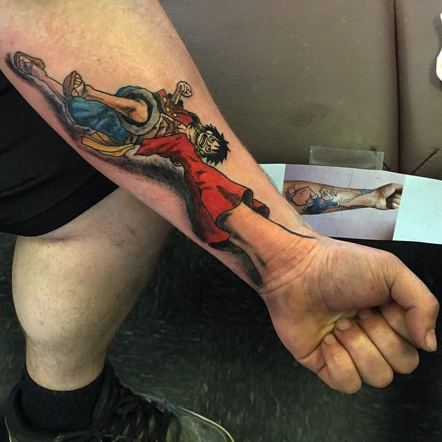 35 Awesome One Piece Tattoos For The Straw Hat Pirates ...