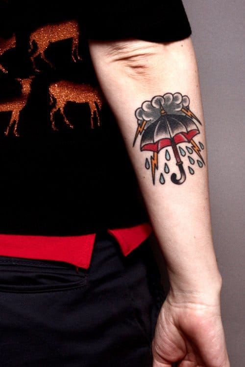 12 stormy weather tattoos to stir thunders in your heart for Tattoo shops junction city ks