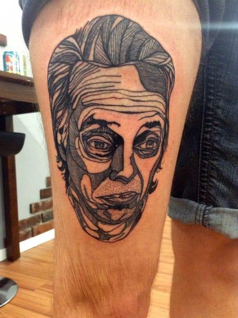 10 Steve Buscemi Tattoos