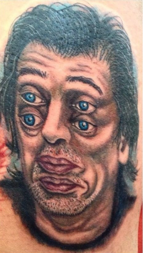 10 steve buscemi tattoos tattoodo for Steve s tattoo