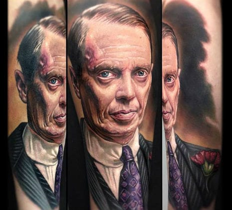 Here as Nucky Thompson from Boardwalk Empire, by Paul Acker