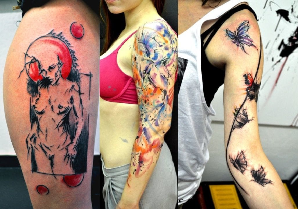 graphic tattoo by Lukas Musil Musa