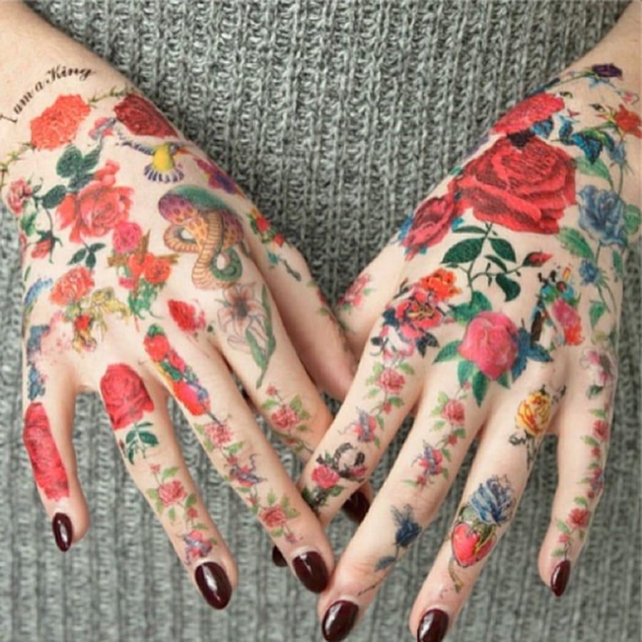 Lorde fan tattoo