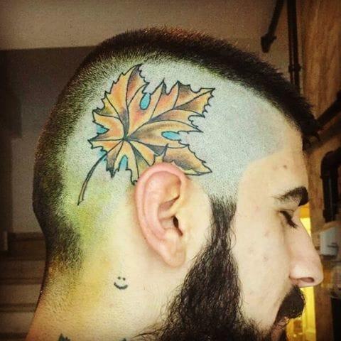 Crazy head leaf, via @akaydovmeci