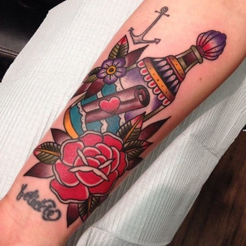 Awesome Tattoo by Matthew Houston