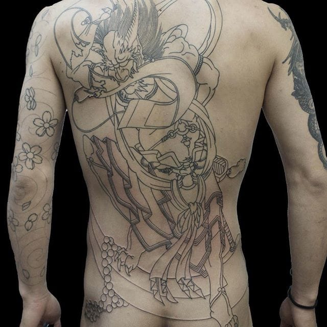 Japanese demon by Shin