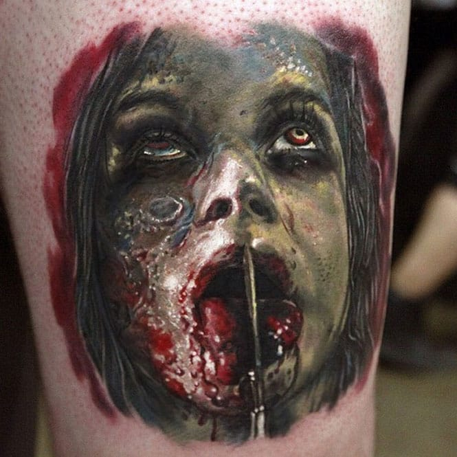 25 Bloody Amazing Gore Tattoos