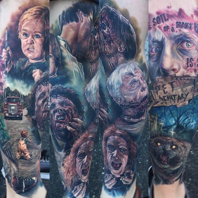 Amazing Gore Tattoo