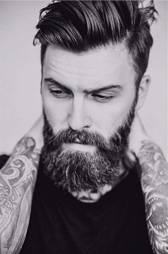 Como faz pra ter uma barba assim?