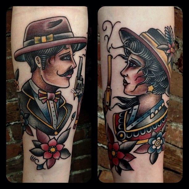 Cool tattoos by Matt Houston!