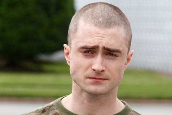 Sporting A New Haircut Radcliffe Is Currently Filming For 'Imperium'