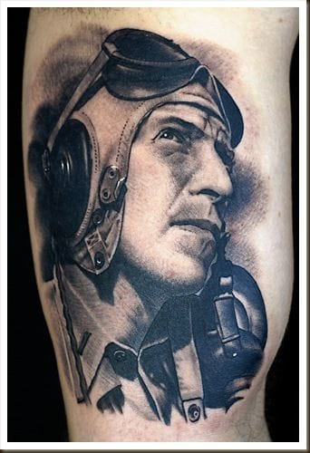 Tribute to an aviator by Russ Abbott.
