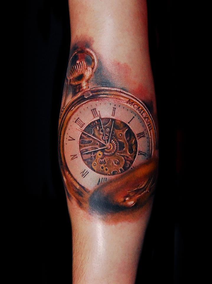 Maravilhoso relógio de bolso
