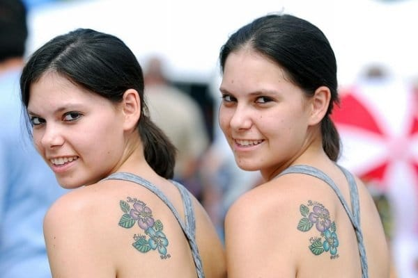 If you had a twin, would you get matching tattoos? :-D