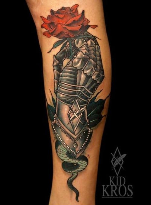 Chivalry Isn't Dead With These Knight Inspired Tattoos!!