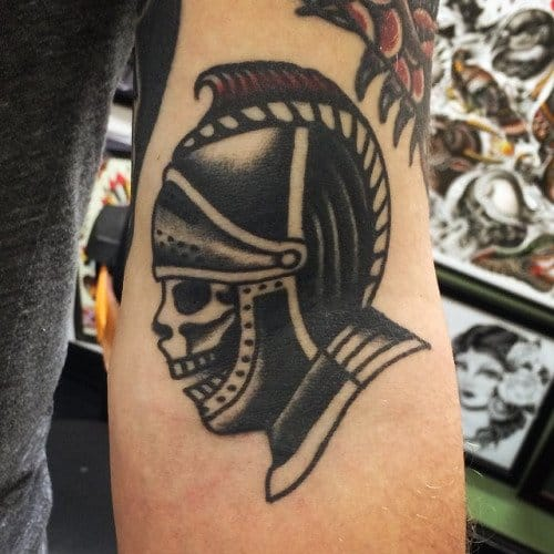 Goblet Tattoo On Forearm By Joe Ellis: Chivalry Isn't Dead With These Knight Inspired Tattoos