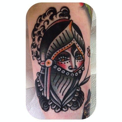 Knight Tattoo by Thomas Arnison