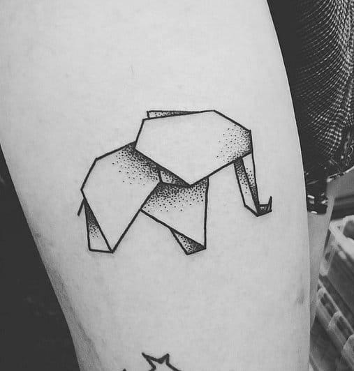 E esse elefantinho em origami de Monki_Diamond? Lindo!!!
