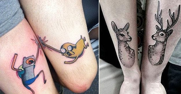10 Sweet Sibling Tattoos