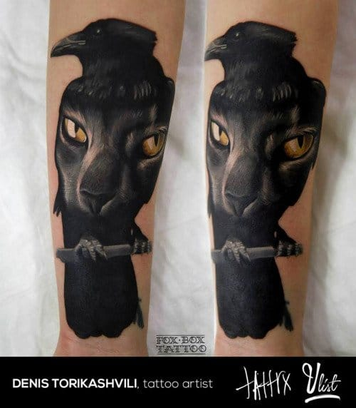 Tattoo artist: Denis Torikashvili
