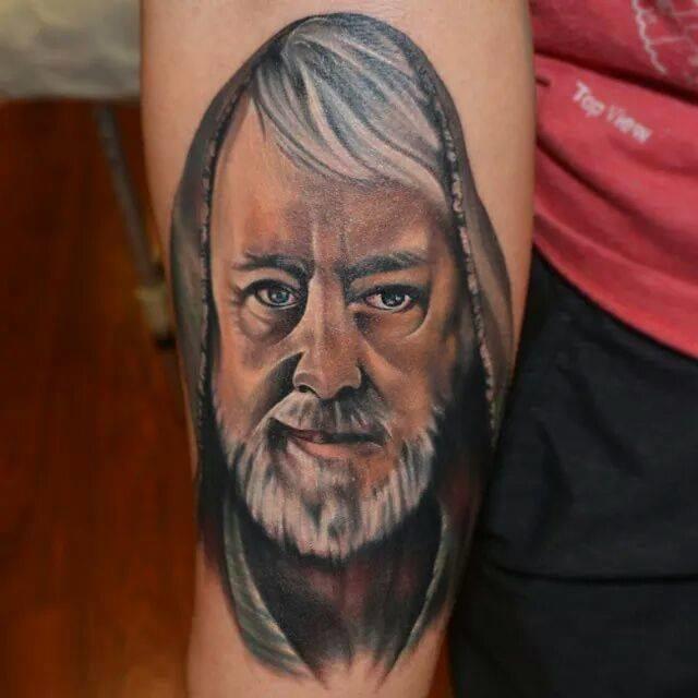 Star Wars tattoo. Artist unknown #starwars