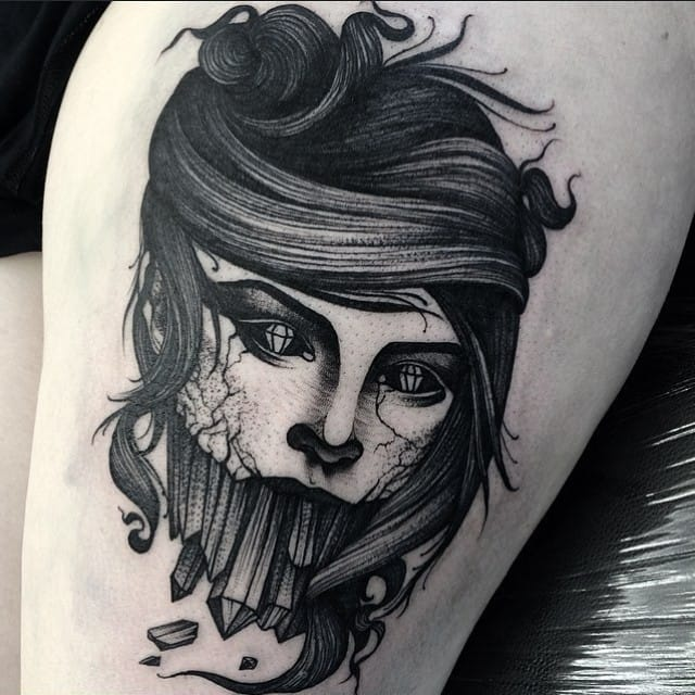 Tattoo by Kelly Violet