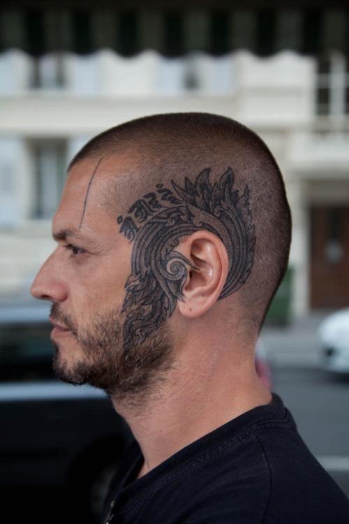 Nice hear tattoo by Xed Lehead.