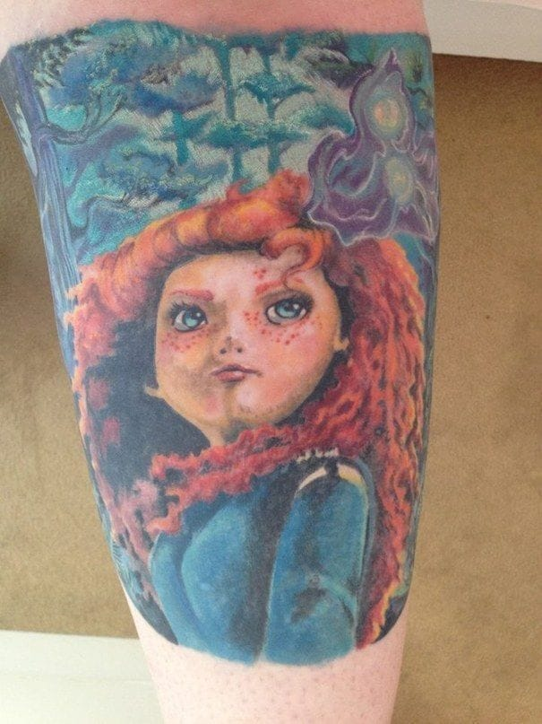 Disney's Merida Tattoo