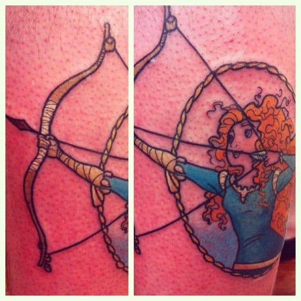 Archery piece by Lauren Winzer.