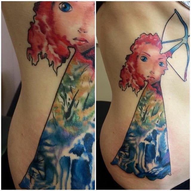Creative tattoo by Ashlea Dyson...
